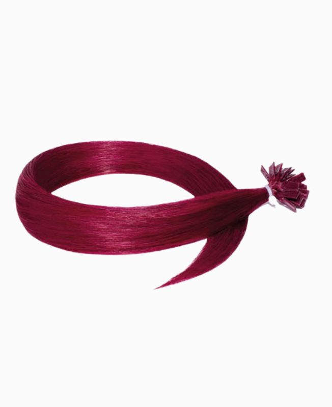 Pre-bonded Remy Human Hair Extensions - Straight - Excellence - Color Burg