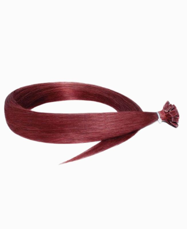 Pre-bonded Remy Human Hair Extensions - Straight - Excellence - Color 530