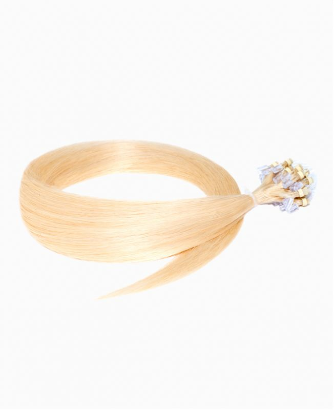 """Easy Loop Remy Human Hair Extension 18"""" - Straight - Excellence - Color 22"""