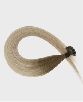 Pre-bonded Remy Human Hair Extensions - Straight - Excellence - Color Balayage Moscou