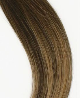 Micro Ring Remy Human Hair Extension - Straight - Excellence - Color Balayage Berlin