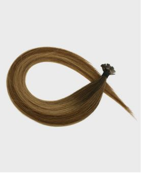 Pre-bonded Remy Human Hair Extensions - Straight - Excellence - Color Balayage Paris