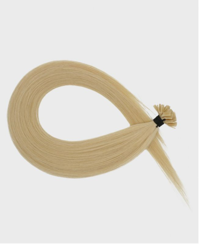 Pre-bonded Remy Human Hair Extensions - Straight - Excellence - Color 613