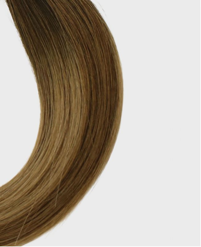 """Ponytail Human Hair 16"""" (Set Of 70 Gr) Straight - Excellence - Color Balayage Paris"""