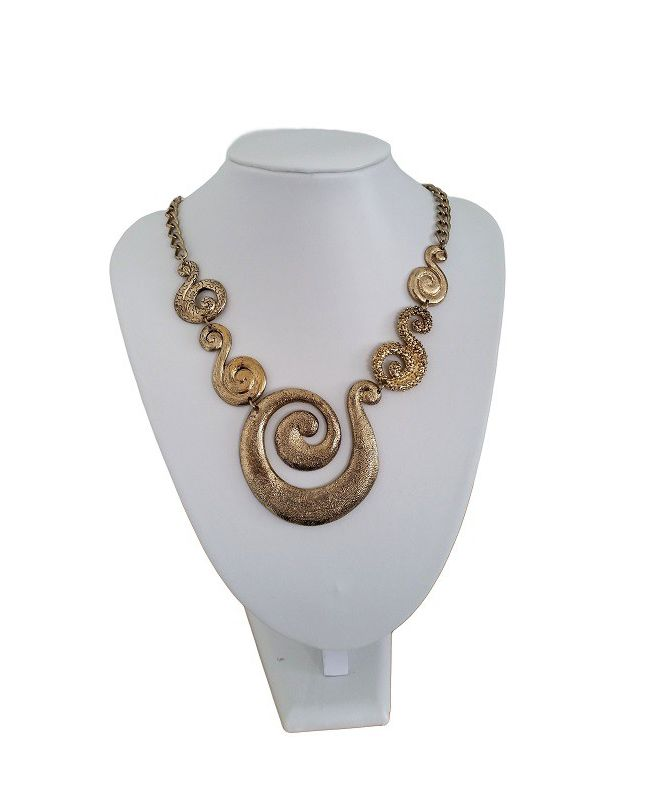 Collier Spirale - Or