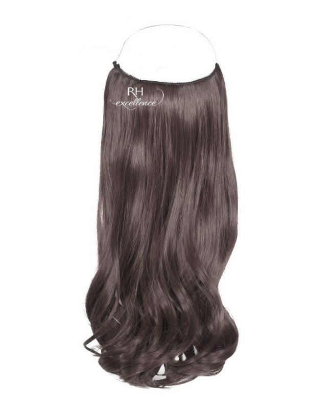"""Flip in Hair Extensions 18"""" (Set of 120 gr) Straight - Synthetic Fiber - Color 2"""