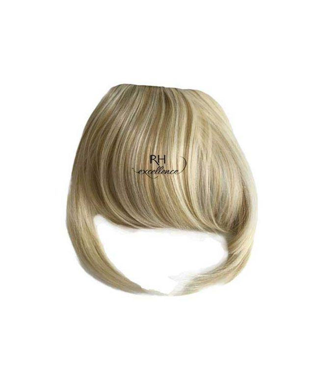 Clip In Fringe - Hair Piece Synthetic Fiber - Color Highlights 613-14