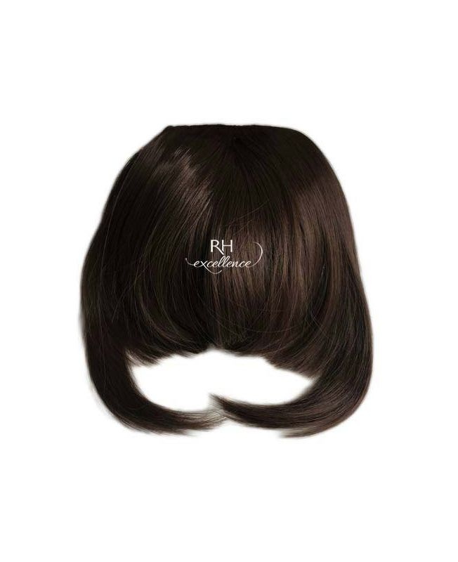 Clip In Fringe - Hair Piece Synthetic Fiber - Color 2