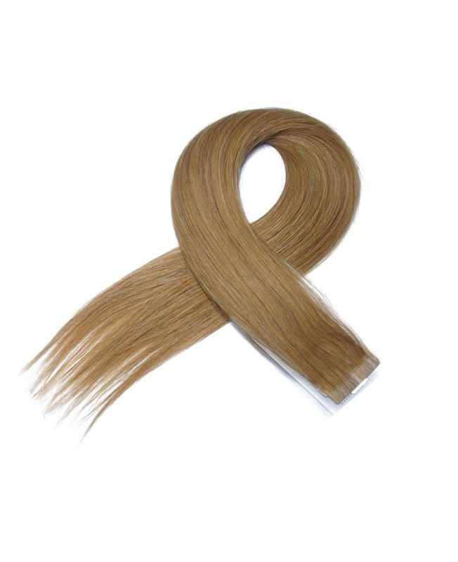 4 Tape in Hair Extensions 50 cm SOCAP - Straight - Color 16