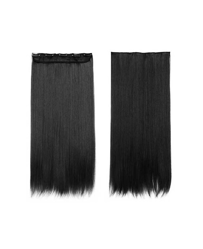 Extension a Clip Mono-Bande - Noir N°1 - Extension cheveux