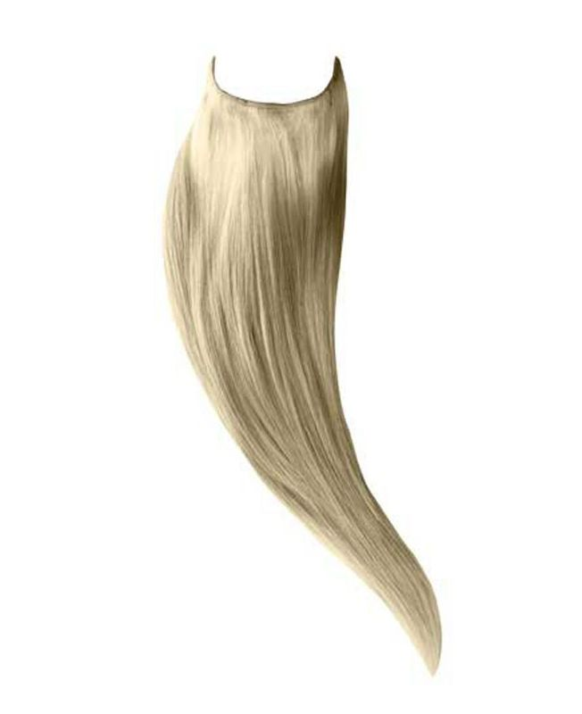 """Flip in Human Hair Extensions 18"""" (Set of 105 gr) Straight - Excellence - Color 60"""