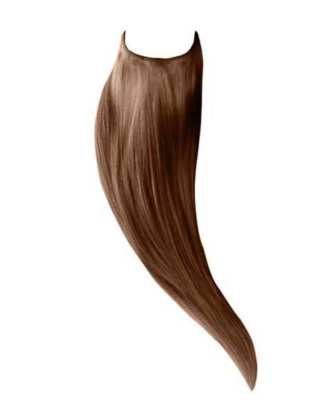 """Flip in Human Hair Extensions 18"""" (Set of 105 gr) Straight - Excellence - Color 10"""