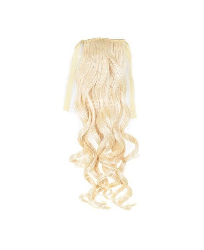 """Ponytail Synthetic Fiber 18"""" (Set Of 80 Gr) Straight - Color 613"""
