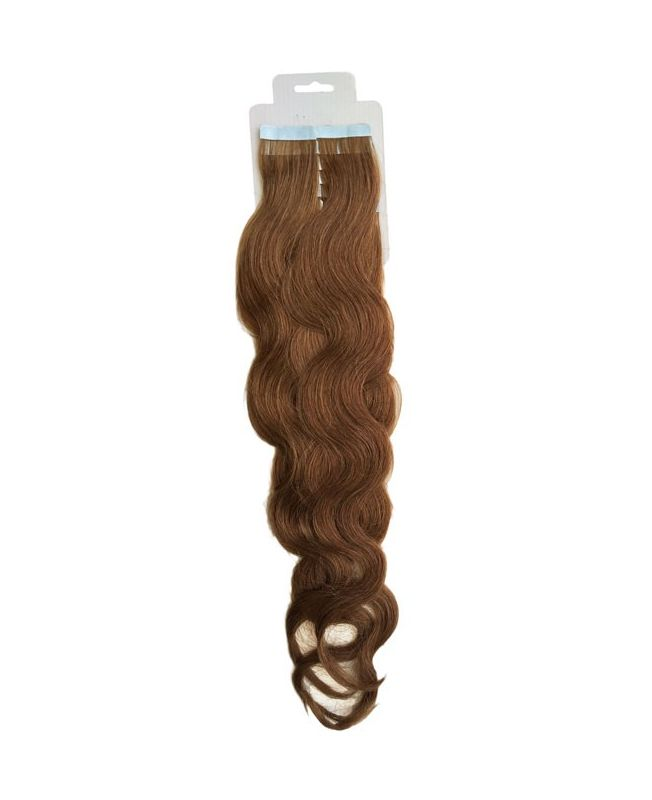 Tape in Remy human Hair Extensions - Nature Wave - Excellence - Color  10