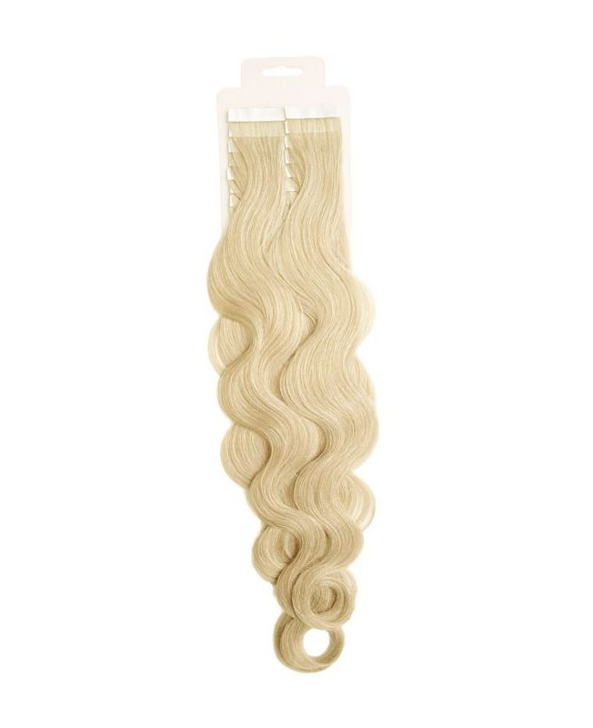 Tape in Remy human Hair Extensions - Nature Wave - Excellence - Color 60