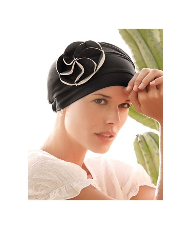 Turban / Scarf for Chemotherapy - Mora Black - MIO Collection by Ellen Wille