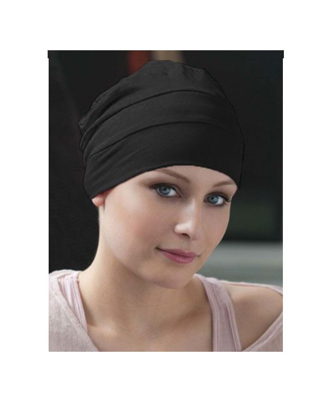 Turban / Scarf for Chemotherapy - Tala Black - Latifa by Ellen Wille Collection