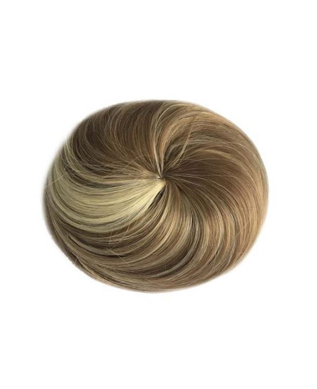 Chic synthetic round Hair Bun - Color 6-613