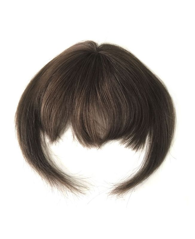 Clip In Fringe - Hair Piece Human hair - Color 4