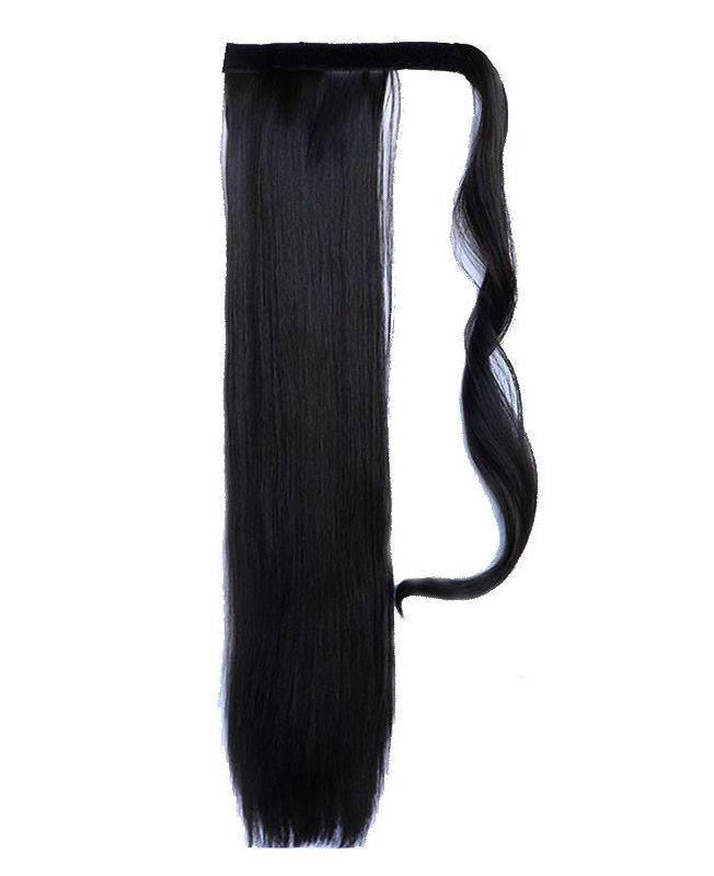 """Ponytail Synthetic Fiber 18"""" (Set Of 80 Gr) Straight - Color 1"""