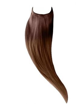 Extension cheveux Easy Fit Lisse - Ombré Chatain 4/10