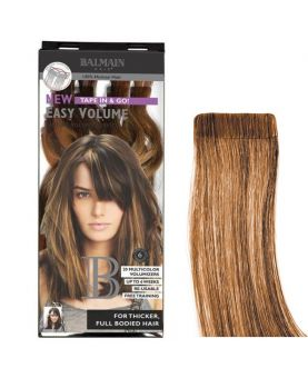 Extension Adhésive Easy Volume Balmain 40 cm - Extension a Bande - Light Gold Blonde